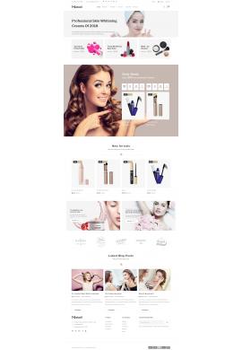 قالب آرایش پرستاشاپ قالب های تجاری پرستاشاپ