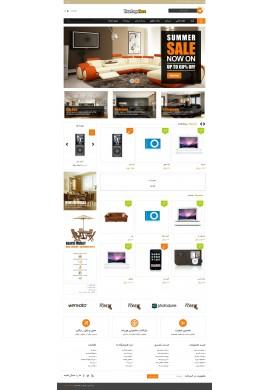 قالب دلپذیر پرستاشاپ قالب های تجاری پرستاشاپ