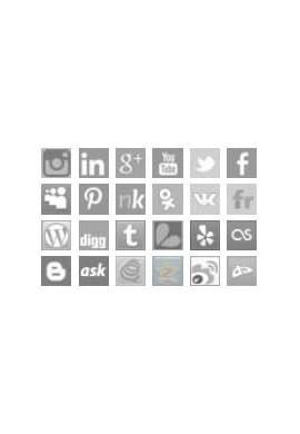 لینک های شبکه های اجتماعی ماژول های تبلیغاتی پرستاشاپ