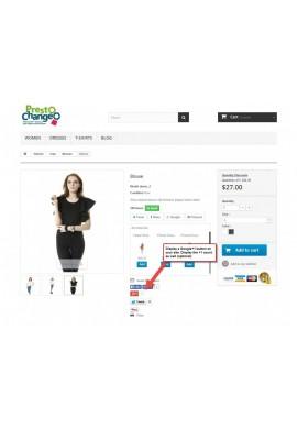 ماژول دکمه گوگل+ پرستاشاپ ماژول های تبلیغاتی پرستاشاپ