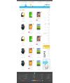 قالب تبلت پرستاشاپ قالب های تجاری پرستاشاپ