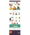قالب گربه سگ پرستاشاپ قالب های تجاری پرستاشاپ