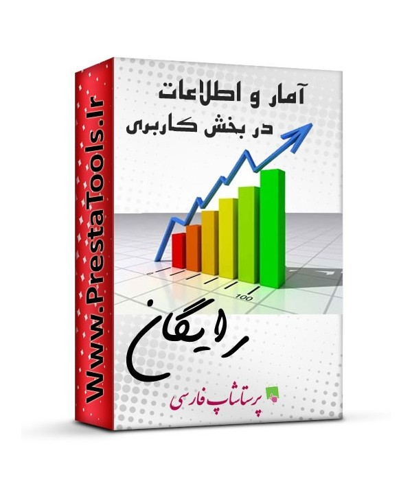ماژول آمار و اطلاعات پرستاشاپ ماژول های آماری پرستاشاپ