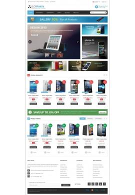 قالب موبایل پرستاشاپ قالب های تجاری پرستاشاپ
