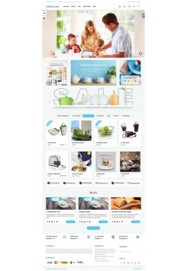 قالب آشپزخانه پرستاشاپ قالب های تجاری پرستاشاپ
